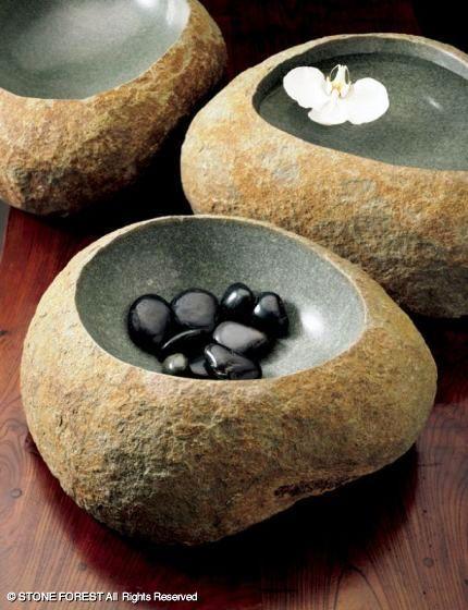 каменный бассейн Wabi