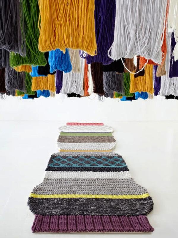 ковер вязанный gan-rugs