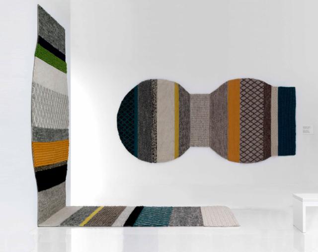 напольный - настенный ковер gan rugs