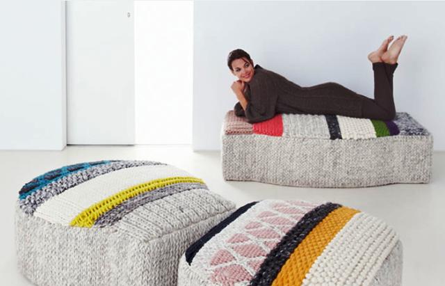 пуфы gan-rugs