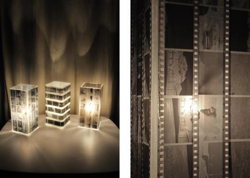 светильники с фотопленкой