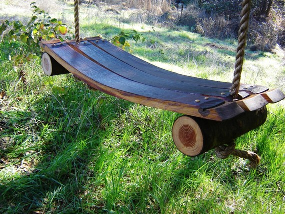 Мебель садовая из дерева своими руками фото