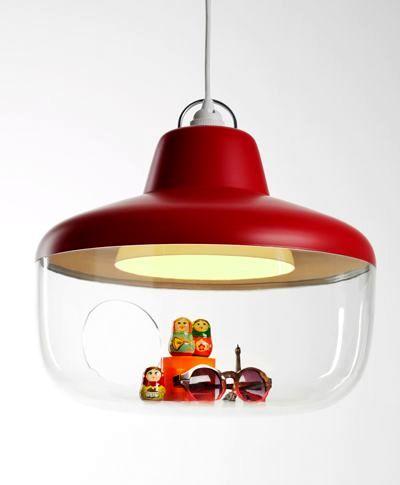 светильник-витрина Chen Karlsson красный
