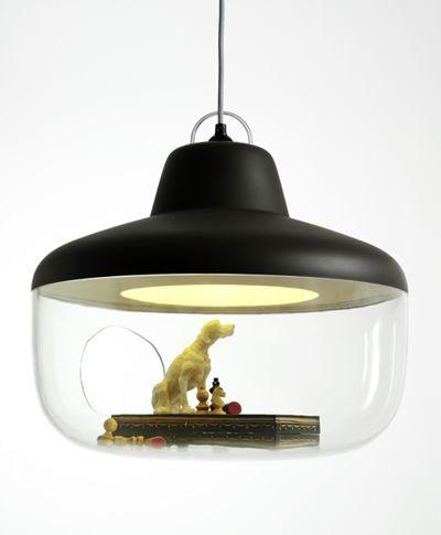 светильник-витрина Chen Karlsson черный
