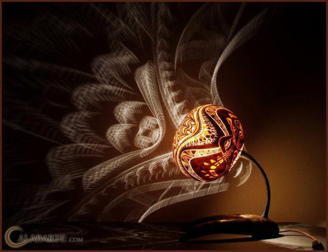 ночники - светильники из тыквы