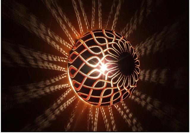 светильники из тыквы calabarte