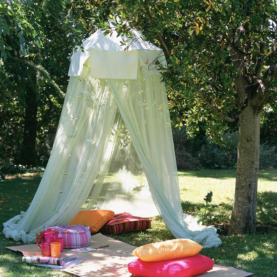 шатер садовый своими руками