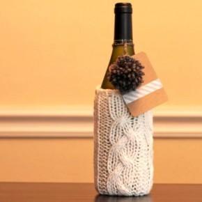 Идеи как упаковать бутылку в подарок