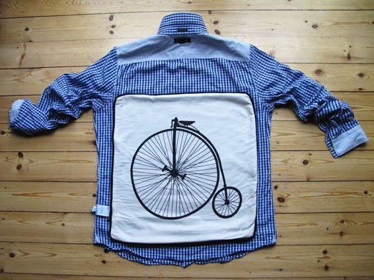 мастер-класс наволочка из рубашки