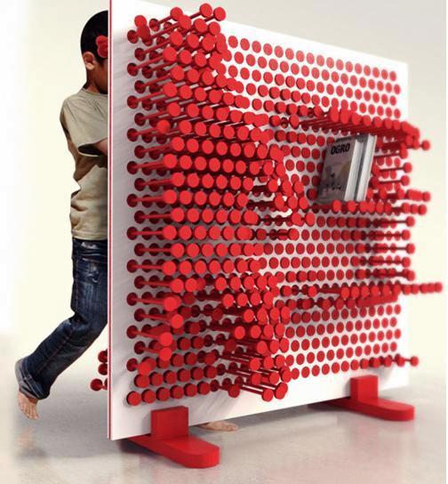 pin press мебель меняющая форму