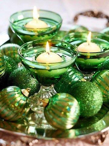 декоративные новогодние свечи своими руками