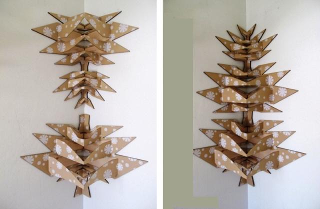 pop tree альтернативное современное рождественское дерево