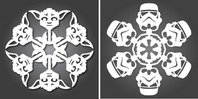 снежинки Звездные войны