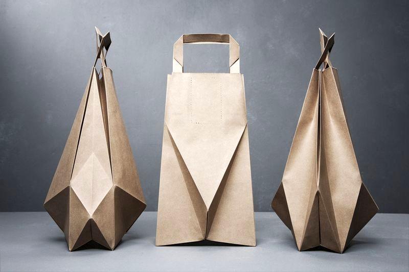 бумажная сумка пакет