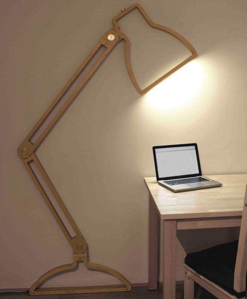 плоские светильники от от Giles Godwin-Brown