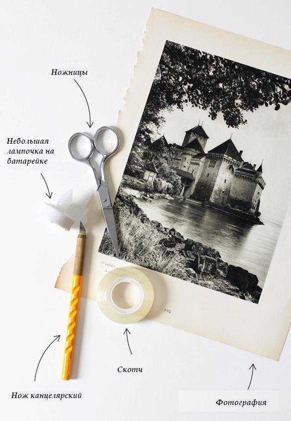 материалы светильник с фотографиями