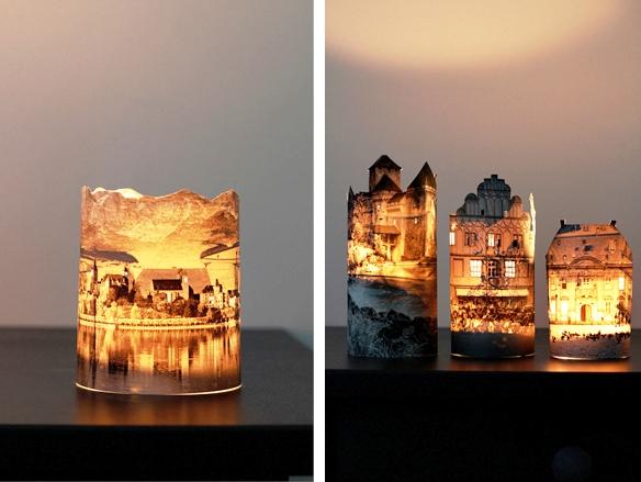 3D светильник с фотографией