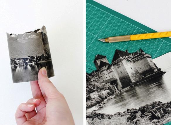 светильник - ночник с фотографиями своими руками