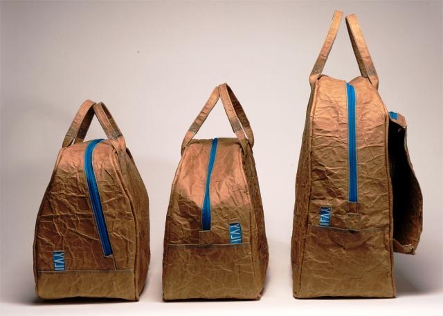 сумки из картона с тканью от ivly jacobs