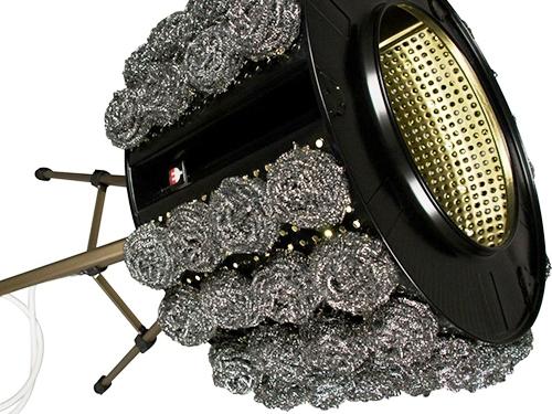 светильник из барабана стиральной машины