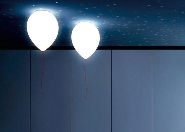 потолочные светильники в виде воздушных шаров