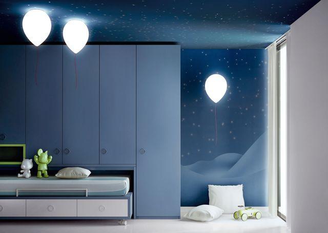 светильники в виде воздушных шариков estiluz