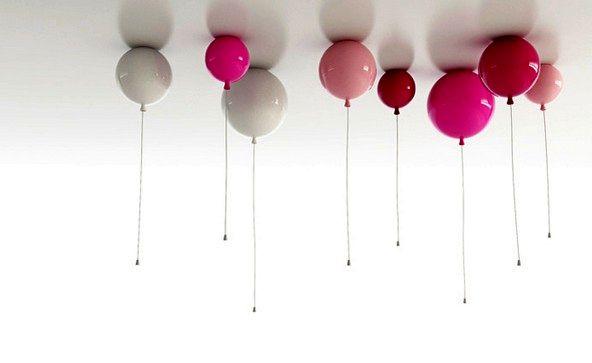 светильники в виде воздушных шариков memory light