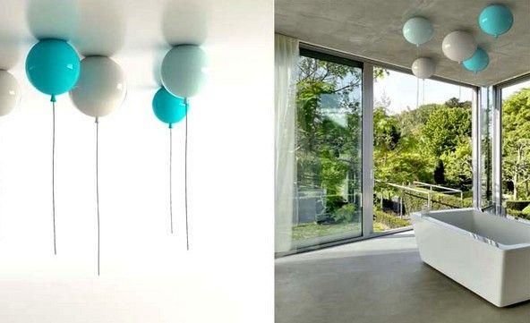 потолочные светильники в виде воздушных шариков memory light