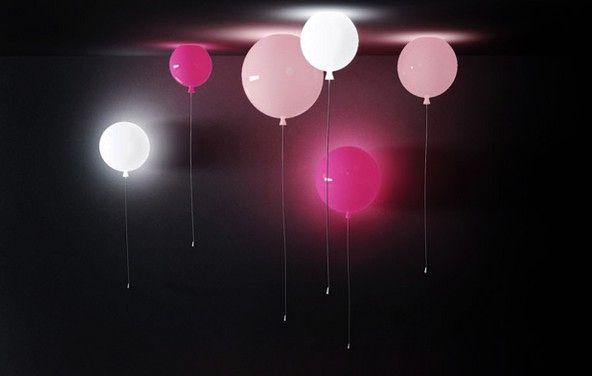 светильники в виде воздушных шаров memory light