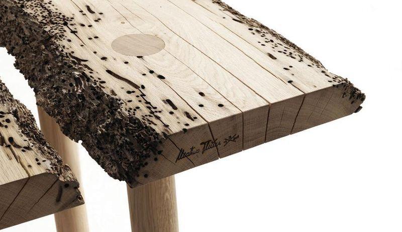 стол из дерева Riva 1920