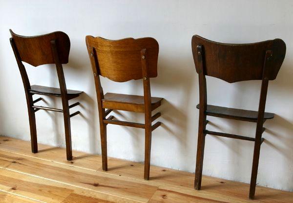 вешалка из старого стула своими руками
