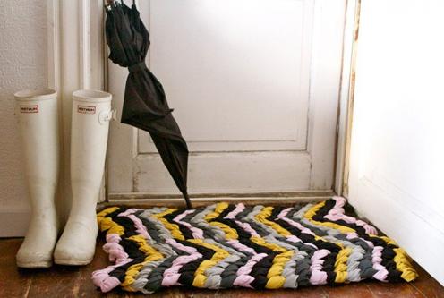 kovrik-uzelki-03 Коврики своими руками - 80 фото идей создания входных и напольных ковров