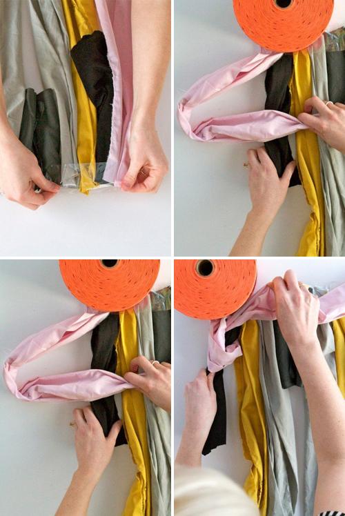 мастер-класс коврик из узелков своими руками