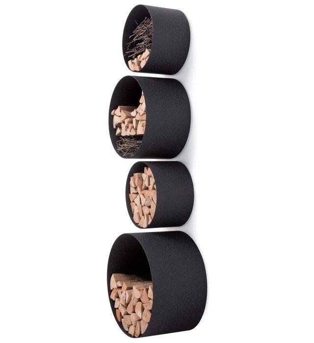 круглые полки для дров
