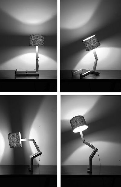 настольная лампа на шарнирах