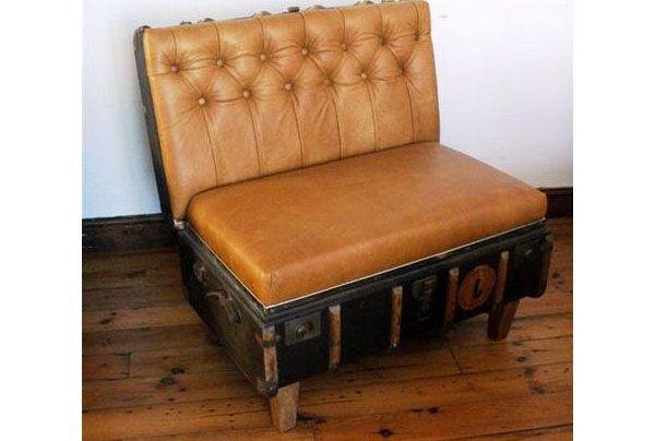 диванчик из чемодана