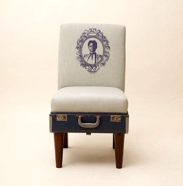 стул из чемодана