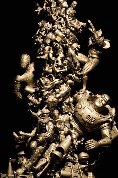 декор игрушками предметов интерьера