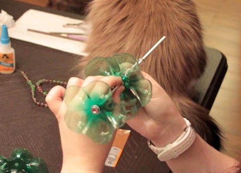 мастер-класс - Подставки из пластиковых бутылок своими руками