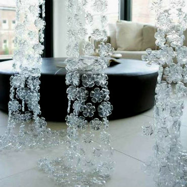 шторы поделки из пластиковых бутылок своими руками