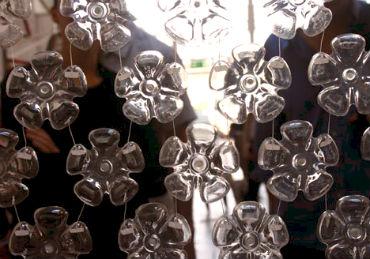 шторы из пластиковых бутылок своими руками