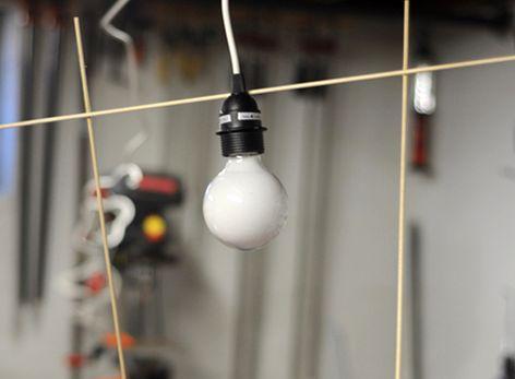 светильник из палочек мастер-класс