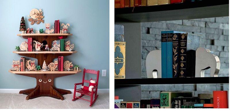 держатели для детских книг