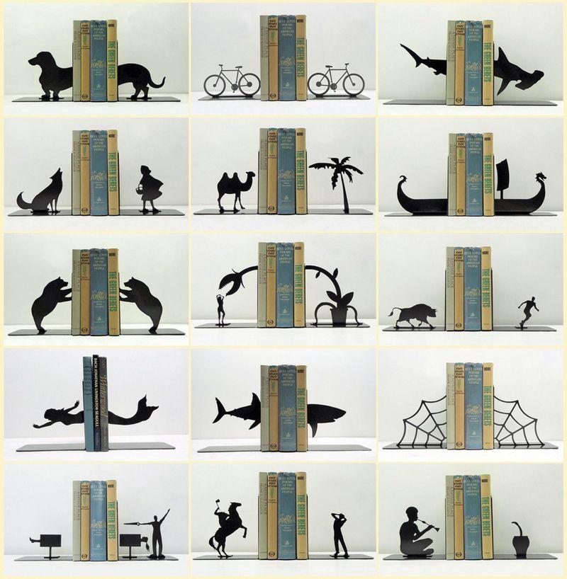 креативные держатели для книг