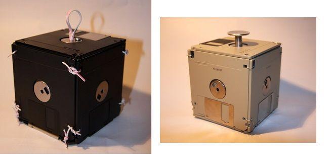 коробка из дискет