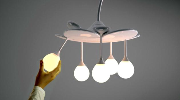 аккумуляторный светильник the drop light