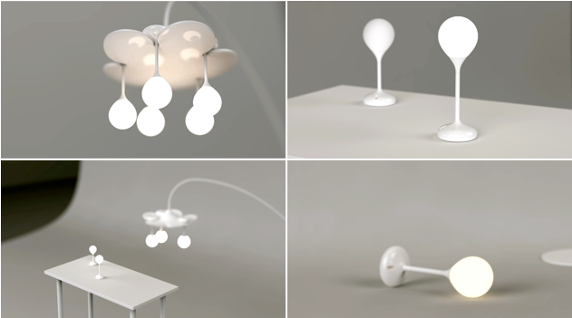 аккумуляторный светильник drop light