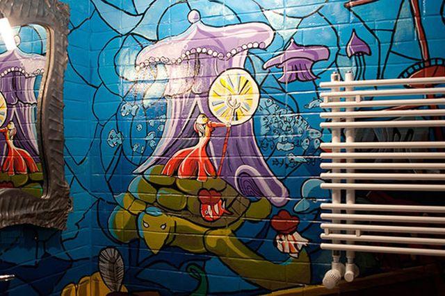 граффити роспись стен