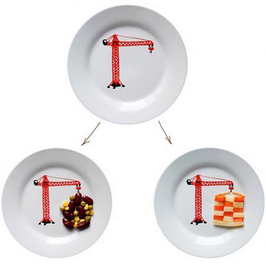 детские тарелки с рисунком