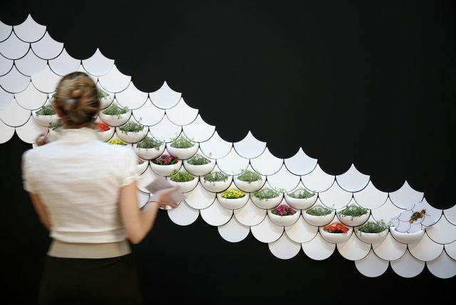 керамическая плитка Зеленые карманы